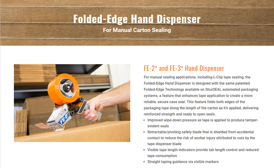 Folded Edge Hand Dispenser