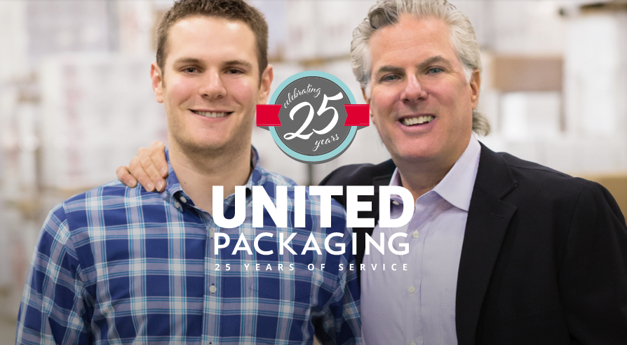25th Anniversary United Packaging