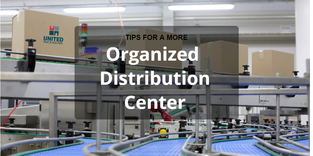 organized distribution center warehouse