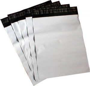 poly mailers white packaging envelopes