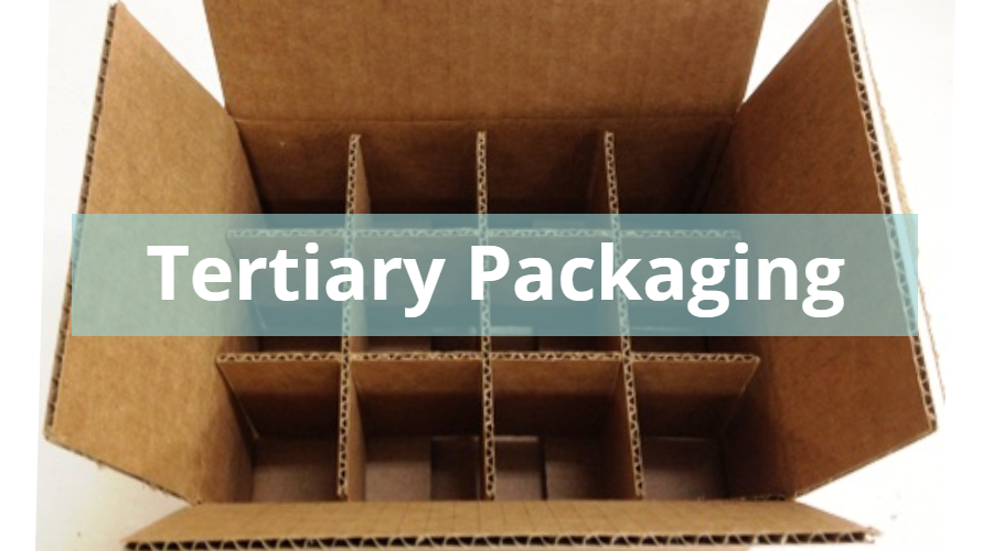Tertiary Packaging with Partitions