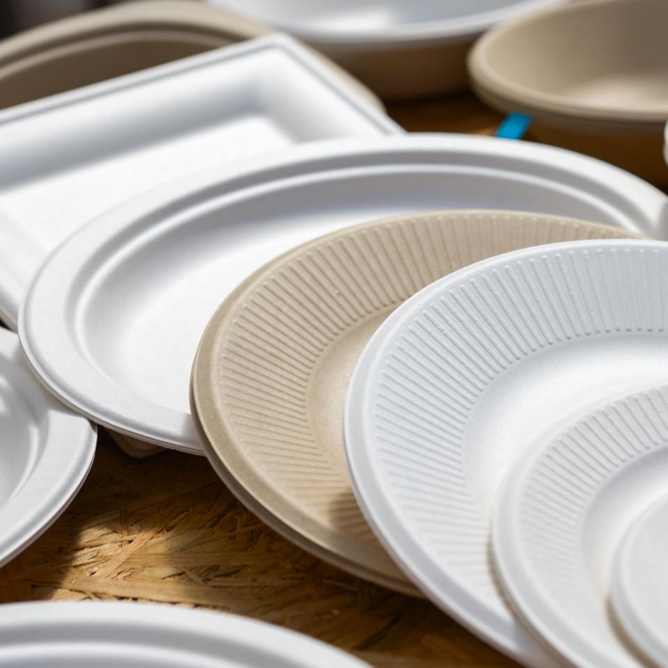 Cups, Plates & Utensils